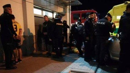 Украинские болельщики столкнулись с полицией Чехии: 8 задержанных