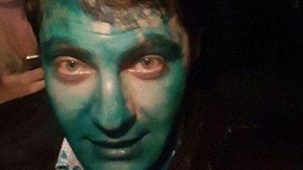 Полиция устанавливает, кто облил Сакварелидзе зеленкой в Харькове