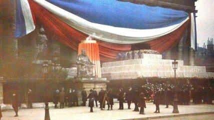 Цветные фотографии Парижа начала 1900-х