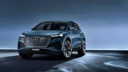 Женевский автосалон 2019: Audi представила электрический кроссовер Q4