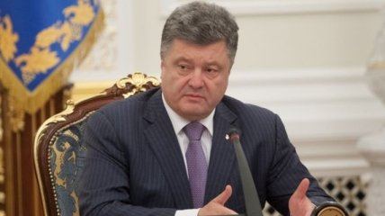 Порошенко не будет говорить с самопровозглашенными на Донбассе лицам