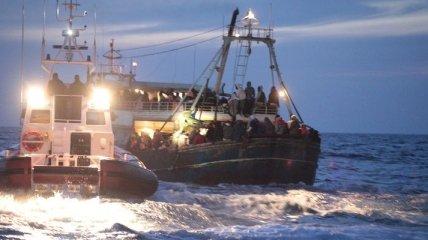 В Средиземном море спасатели ищут пассажиров затонувшего судна