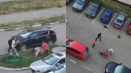 Попросил не шуметь рано утром: россиянина за замечание избила группа молодых людей (видео)