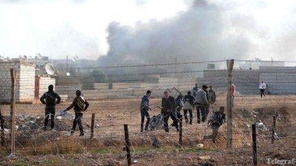 На границе с Турцией идут военные действия