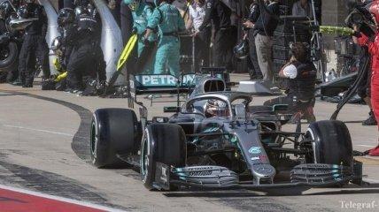 Борьба с расизмом: Mercedes решила перекрасить болиды F1 в черный цвет (Фото)