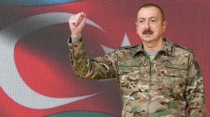 Алиев высказался о дальнейшей судьбе Нагорного Карабаха