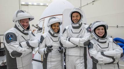 Астронавты, которые полетят в космос