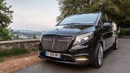 В сети показали шикарное авто от Mercedes-Maybach