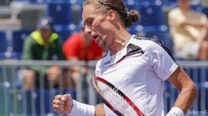 Долгополов вышел в четвертьфинал турнира в Рио