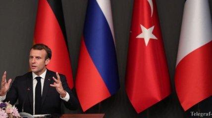 Макрон сообщил условие возвращения беженцев в Сирию