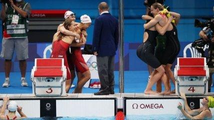На Олимпиаде в Токио побит мировой рекорд в плавании