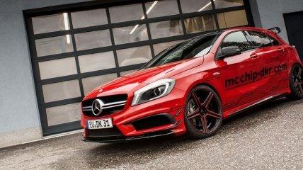 У Mercedes-Benz A 45 AMG оказалось немало скрытых резервов