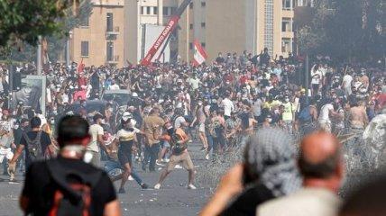 В антиурядових протестах у Бейруті постраждало 700 осіб (Відео)