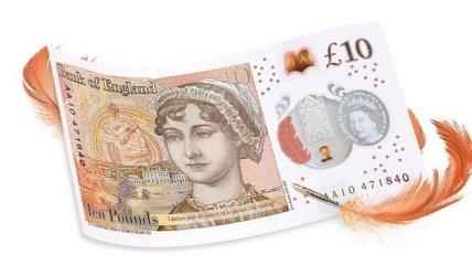 Банк Англии представил новую банкноту с изображением писательницы