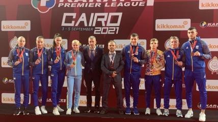 Украинские каратисты выиграли 8 медалей на турнире в Каире