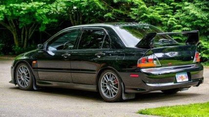 В идеальном состоянии: на аукционе выставлен Mitsubishi Lancer Evolution 2006 года