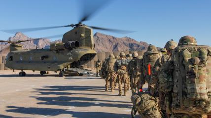 Военные США покидают Афганистан