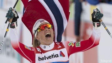 ЧМ-2019 по лыжным гонкам: Йохауг выиграла масс-старт