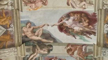 Прекрасные фрески Микеланджело, которые стоит увидеть вживую (Фото)