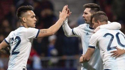 Сборная Аргентины объявила состав на Кубок Америки