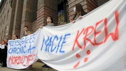 Во Вроцлаве прошла акция протеста из-за смерти украинца от рук полиции