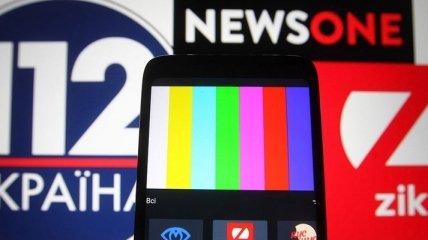 Британские правозащитники осудили закрытие в Украине оппозиционных телеканалов