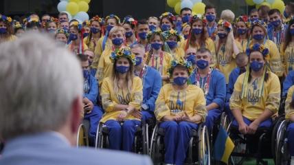 Украинские паралимпийцы в Токио