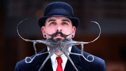 Бородачи завоевывают мир: Престижный конкурс среди бород и усов прошел в Антверпене (Фото)