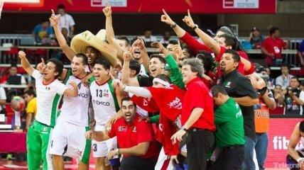 Мексика - чемпион Америки по баскетболу