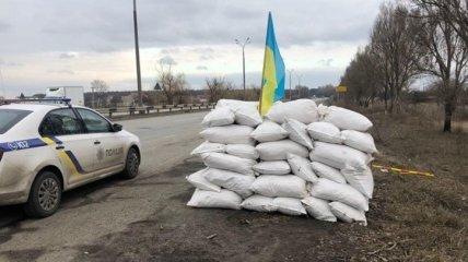 В Днепропетровской области задержаны 6 человек, за создание блокпоста (Фото)