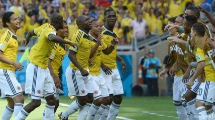 ЧМ-2014. Колумбия не заметила Грецию (3:0)