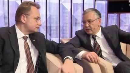 Выборы 2019: Гриценко и Садовый подписали соглашение об объединении