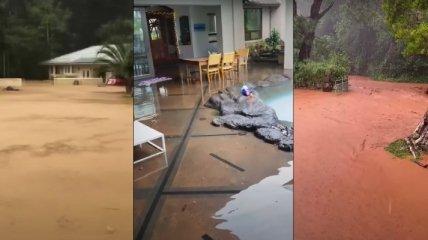 Сильный дождь вызвал рекордное за 25 лет наводнение на Гавайях (фото и видео)