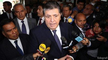 Бывший лидер Перу прострелил себе голову