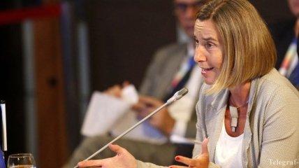 Могерини заявила, что Брюссель продолжит переговоры с Турцией о членстве в ЕС