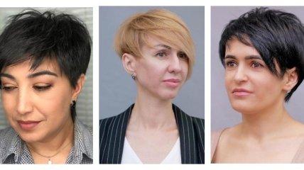 Идеальные варианты стрижек на короткие волосы для дам после 40 (Фото)