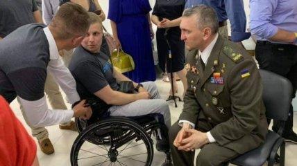 Под Киевом открыли реабилитационный центр для раненых военных