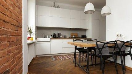 Столовая на маленькой кухне: советы для уютного обустройства (Фото)
