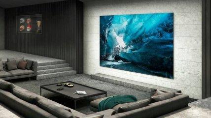 С экраном на 110 дюймов: Samsung представил первый потребительский MicroLED-телевизор (фото)
