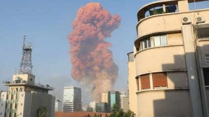 В столице Ливана прогремел мощнейший взрыв
