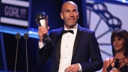 Зидан - тренер года по версии ФИФА