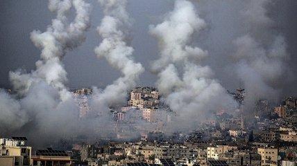 Масштабы обстрелов между Израилем и сектором Газа показали на фото со спутника