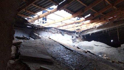 В школе под Николаевым произошел взрыв в школе - бетонная плита придавила человека (фото)