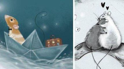 Очаровательные иллюстрации голландской художницы (Фото)