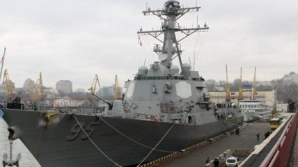В одесский порт зашел американский эсминец