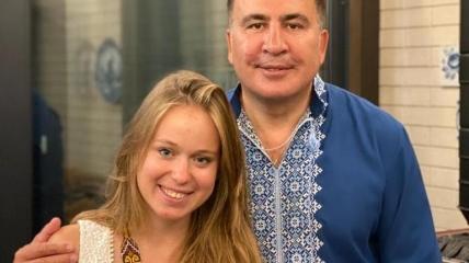 Михеил Саакашвили и Елизавета Ясько уже много месяцев вместе