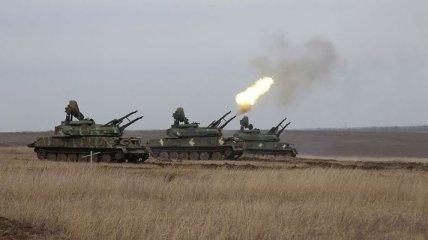 На Азові відбулись військові навчання з бойовими стрільбами (Фото)