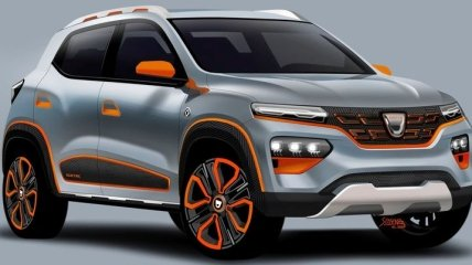 В сети появились патентные изображения электрического Renault Spring (Фото)