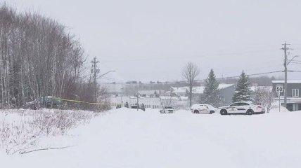 Женщина в Канаде вела огонь по врачам и пожарным, спешащим ей на помощь