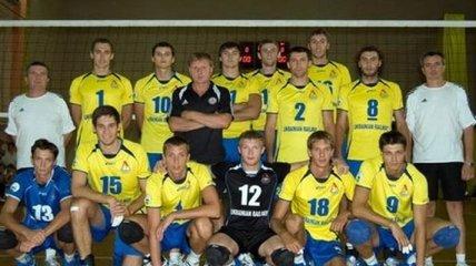 Волейбол. Первая победа мужской сборной Украины